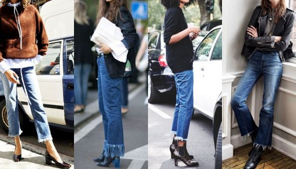 ¿Cómo deshilachar la bota de mis jeans?