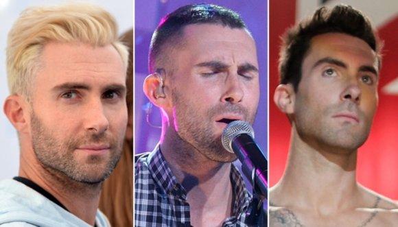 ¿Qué corte de pelo le queda mejor a Adam Levine?