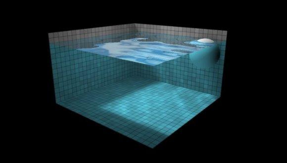 Divertido simulador de fluidos interactivos (Juego)