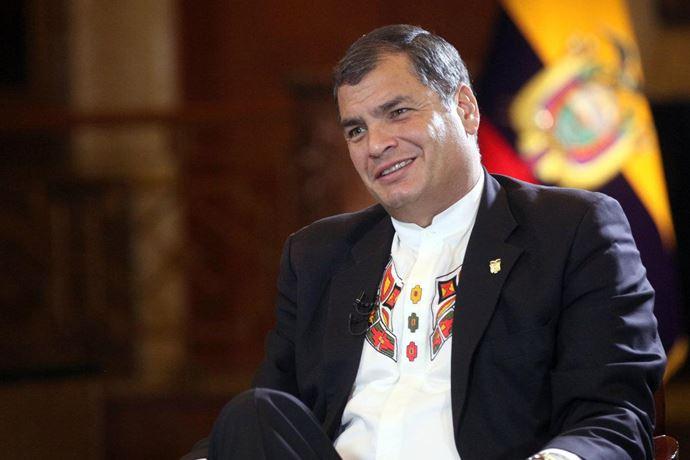 10Rafael Correa presidente de Ecuador