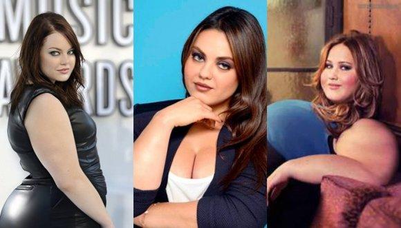 Kim, Megan Fox y otras famosas en versión Botero