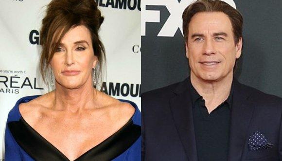 Dicen que John Travolta y Caitlyn Jenner tienen algo, ¿qué crees?