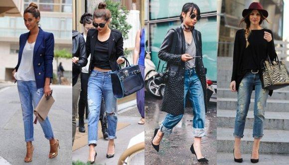 0dc0b59da0c4d 21 pintas con las que te verás divina usando Reebok ochenteros · ¿Cómo usar  los jeans ochenteros que están de moda
