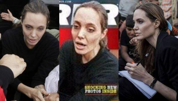 ¿Angelina Jolie hospitalizada por pesar 35 kilos? ¡Mentira!