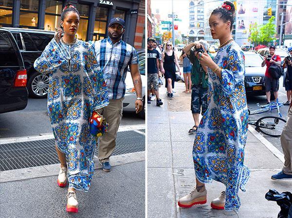 Rihanna manta