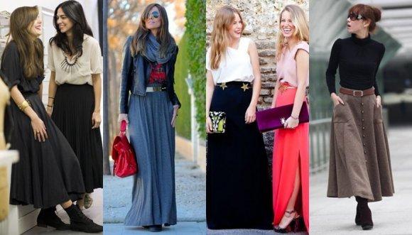 31 pintas divinas con falda larga