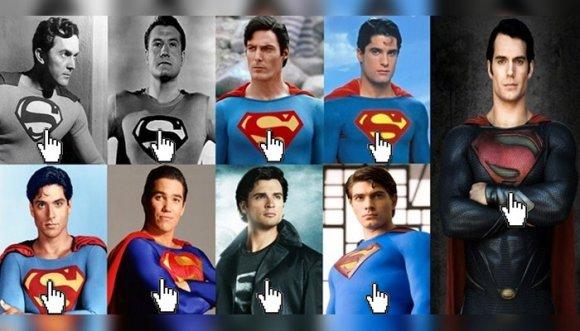 ¿Cuál Superman es más churro?