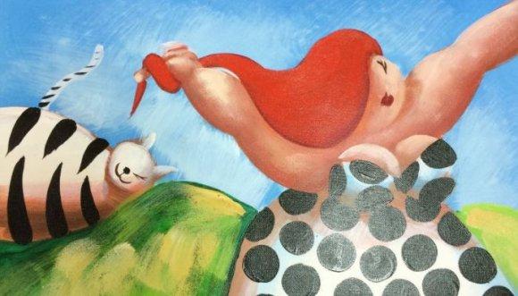 Ilustradores obsesionados por gorditas... ¡Los amarás!