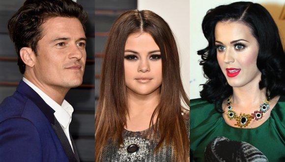 "Orlando Bloom ""cachoneó"" a Katy Perry con otra cantante"