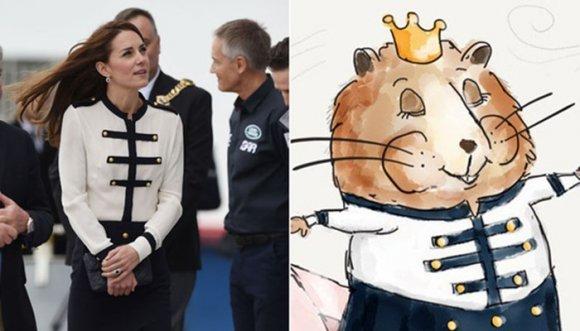 Versión hámster de Kate Middleton enloquece las redes