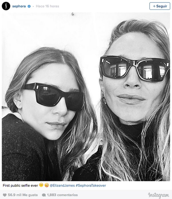 Selfie mary kate ashley olsen gemelas