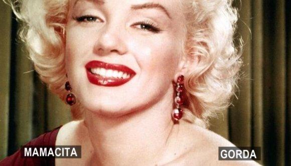 ¿Marilyn Monroe hoy sería modelo XL?