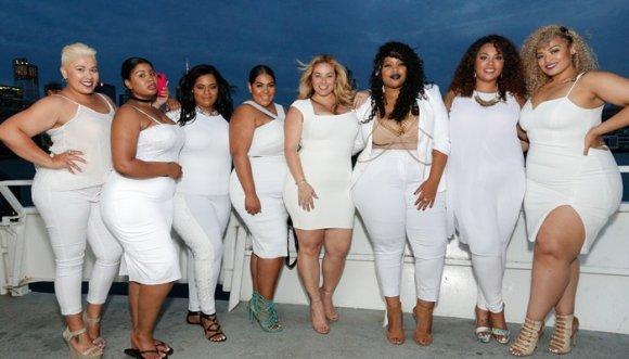 ¿Que las gorditas no pueden vestirse de blanco? ¡Mentira!