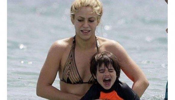 ¿Qué le pasó a Shakira en sus vacaciones? (FOTOS)