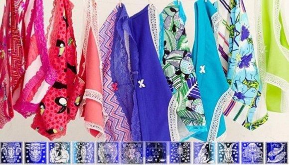 Dinos tu signo del Zodiaco y te diremos la ropa interior ideal para ti