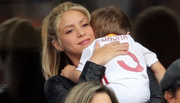 Shakira demostró ser toda una mamá
