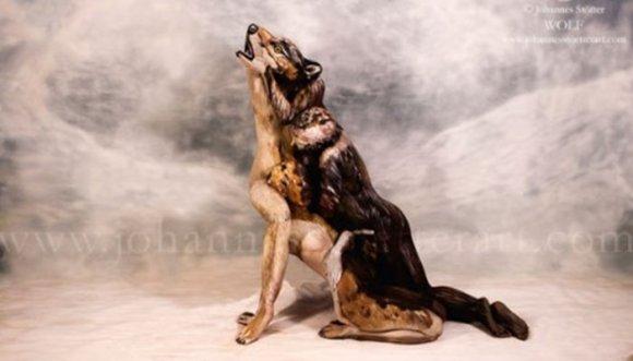 ¿Ves mujeres en este lobo? Ilusión óptica