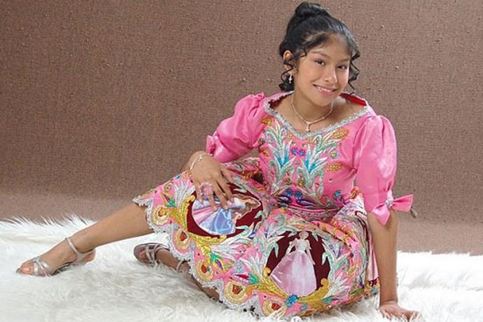 Wendy Sulca supera el Bullying niña portada