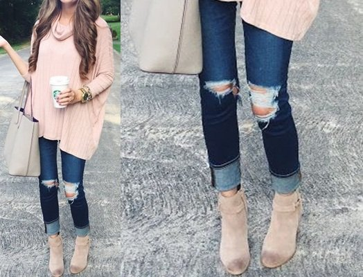48fd2ce6526 Cómo combinar correctamente botines y jeans  - Vibra