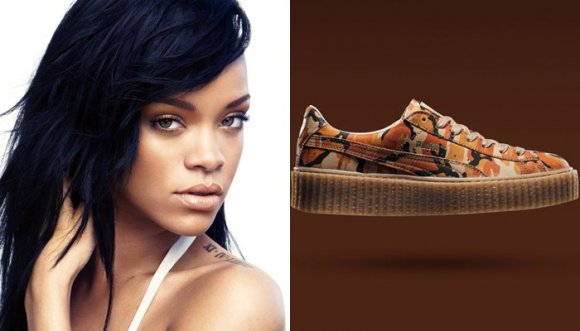 Los tenis favoritos de Rihanna... ¡DIVINOS!