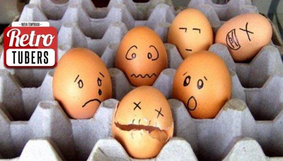 Los Retrotubers hicieron la ruta del huevo