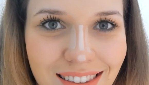 ¿Cómo maquillar una nariz grande y ancha? Hazlo así...