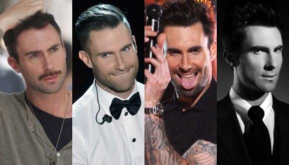 Adam una vez más cambia de look