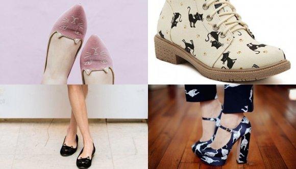 Zapatos de gato que tu niña interior quiere tener