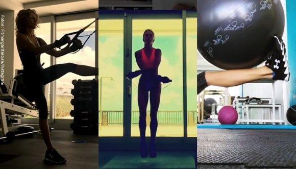 La rutina de ejercicios de Margarita Rosa de Francisco