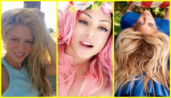 Tips de las famosas para mantener el color de pelo tinturado