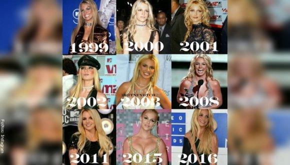 Britney, ¿eres tú? Sus impresionantes cambios en los Premios MTV