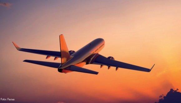 Nació en pleno vuelo y como regalo viajará gratis para siempre