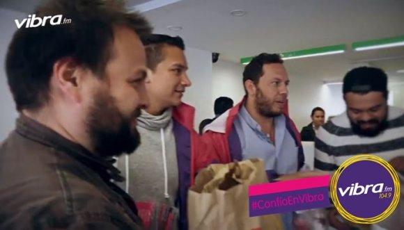 """""""Domicilios Vibra"""": donde almuerzas gratis solo por confiar"""