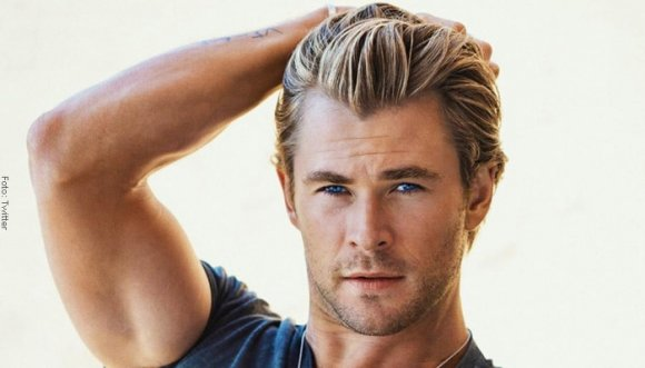 Chris Hemsworth está de infarto... ¡Papacito!
