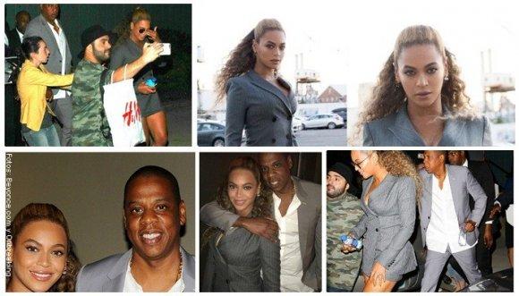 Beyoncé revive el clásico sastre de falda