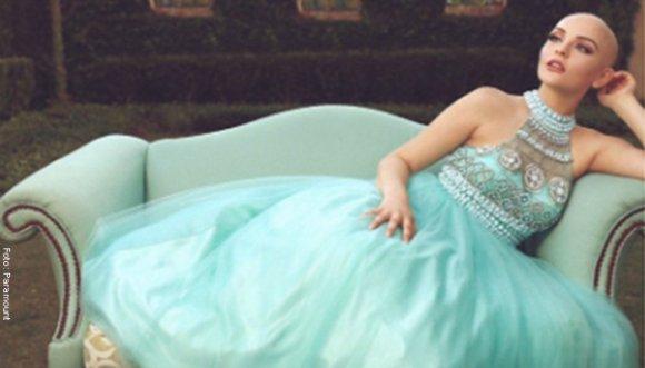 Princesa calva es una celebridad en internet