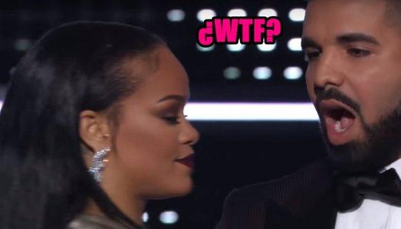 Rihanna dejó con el pico estirado a Drake