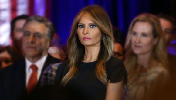 Melania, la esposa de Donald Trump es noticia por estas fotos