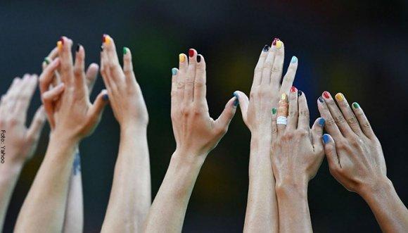 Las uñas más olímpicas de Río 2016