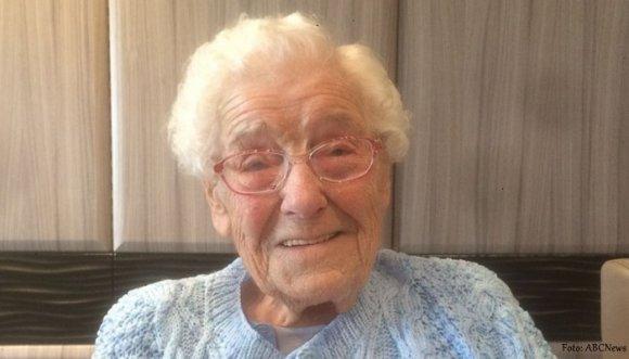 Anciana de 105 años pidió este increíble regalo de cumpleaños