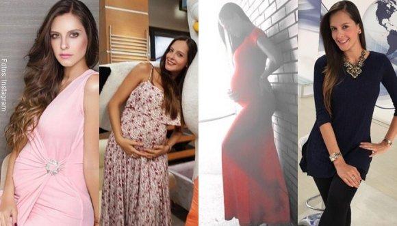 Laura Acuña: toda una belleza embarazada