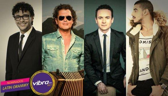 Ellos son los artistas Vibra nominados a los Latin Grammy