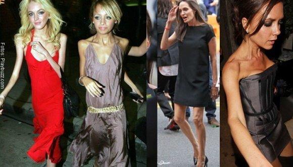 Impresionantes casos de anorexia en Hollywood