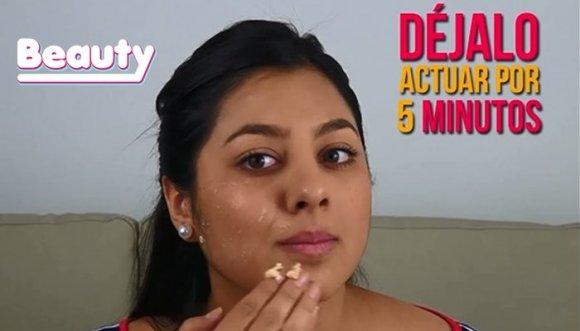 Mascarilla efectiva para tu piel grasa