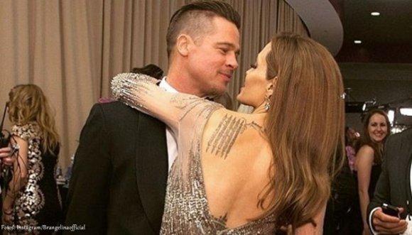 """Angelina le dice """"No más"""" a Brad Pitt"""