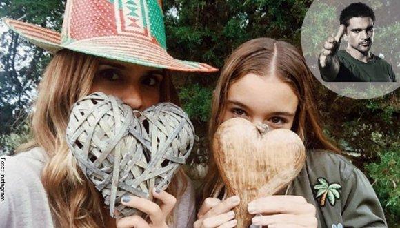 Hija de Juanes heredó belleza de Karen Martínez
