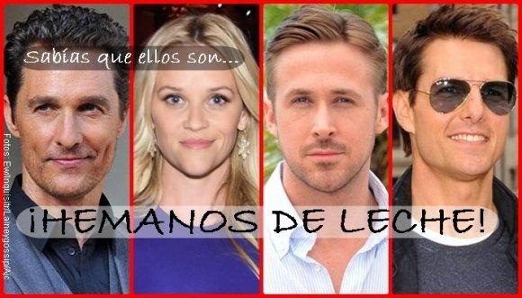 #AmorYamistad: '11 hermanitos de leche' de Hollywood