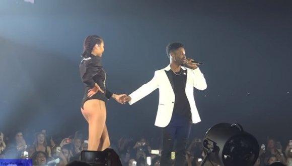 Le pidieron matrimonio en concierto de Beyoncé (Video)