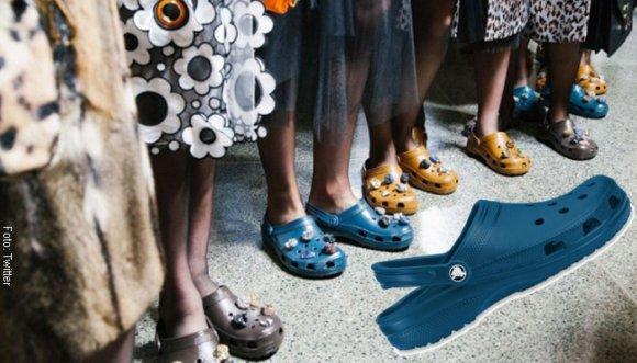 ¿Usarías vestido con Crocs? ¡Es la pinta de la semana!