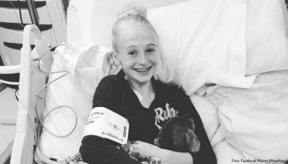 Ella tendrá un nuevo corazón y así recibió la noticia (Video)